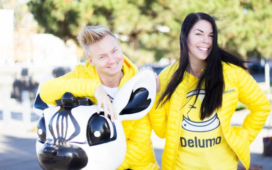 """Philip & Paulina på Delumo: """"myOffice känns nytt, fräscht och otroligt innovativt"""""""