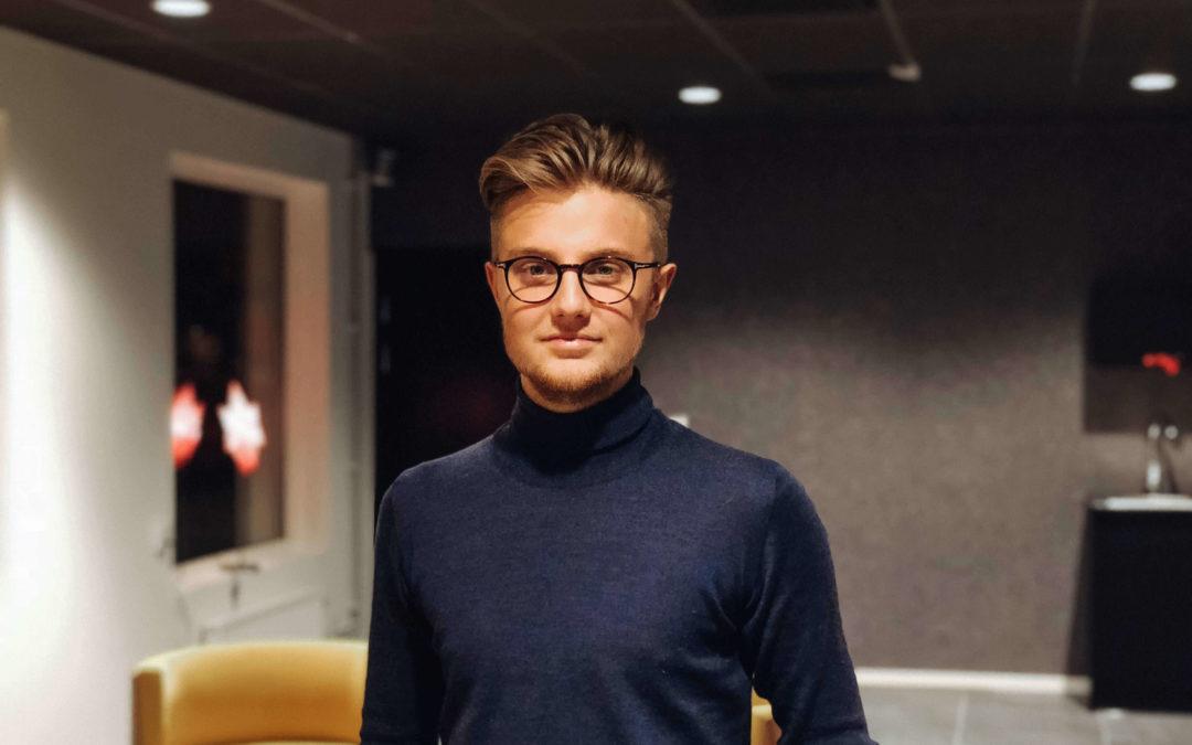 """Hugo Hultqvist: """"myOffice är inspiration och affärsmöjligheter"""""""